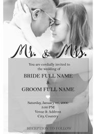 Engagement Photo Invite