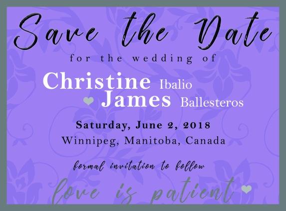 Christine & James 2018